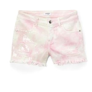 New Pink | Sequence Shorts Tye Dye Shorts